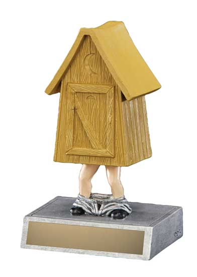 Outhouse Award - 5 1/2""
