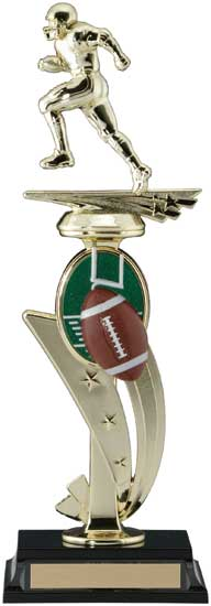 Football 3D Sports Riser Trophy - 13""