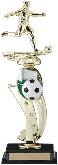 Soccer 3D Sports Riser Trophy - 13""