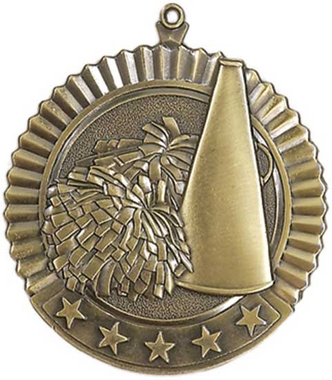Cheerleading Star Medal
