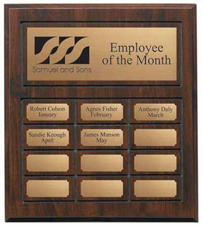 "Annual Plaque - 11 3/4"" x 13 3/4"""