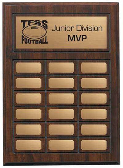 "Annual Plaque - 11 3/4"" x 15 3/4"""