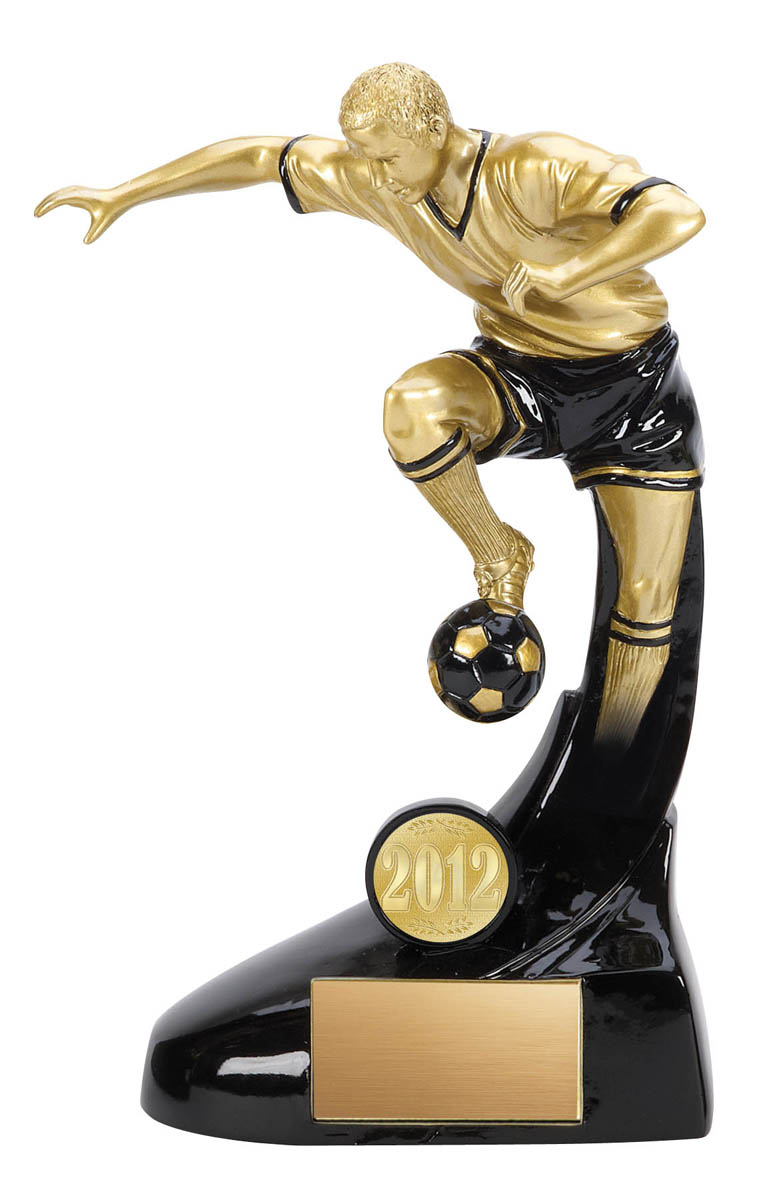 Evolution Male Soccer Trophy - 5 1/4""