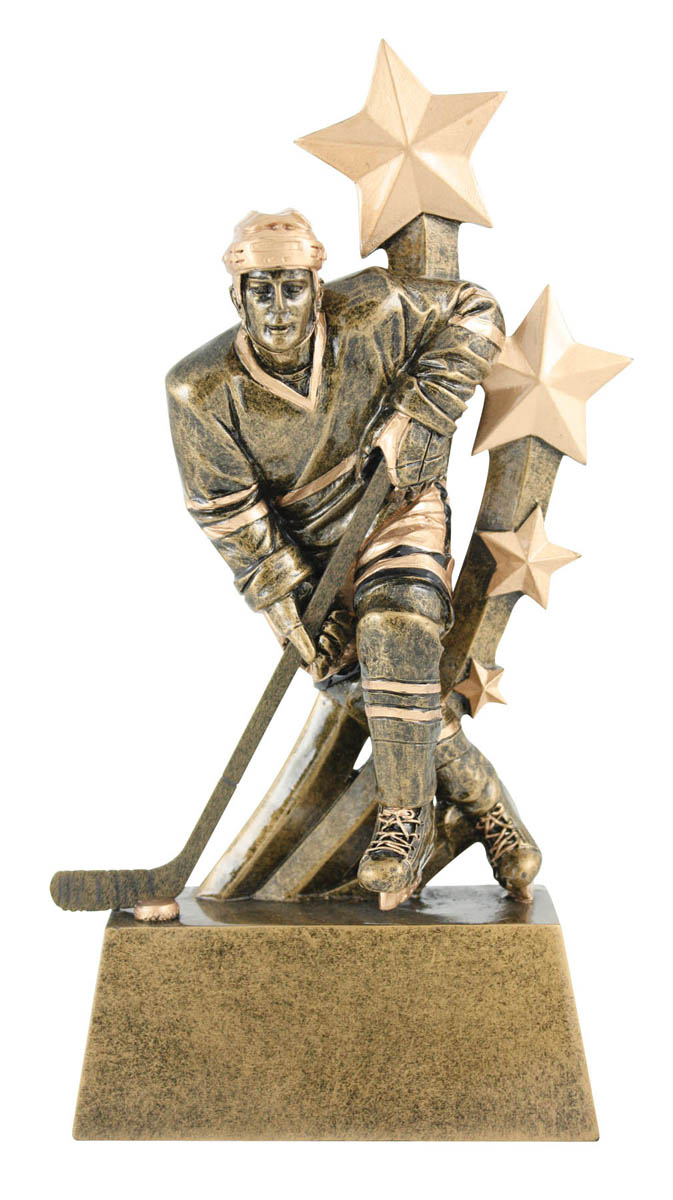 Sentinel Male Hockey Trophy - 8 3/4""
