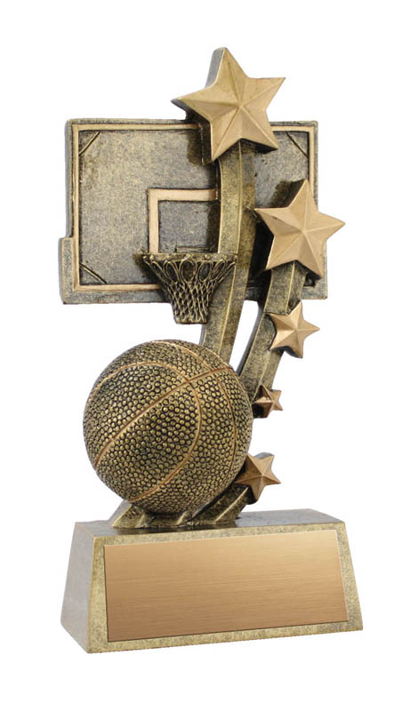 Sentinel Basketball Trophy - 6""