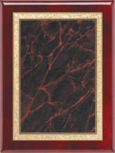 "Rosewood Plaque - Red 7"" x 9"""