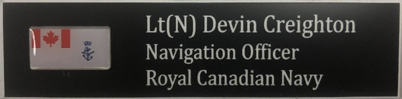 RCN Positional Name Tag