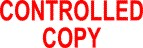 CONTROLLED COPY Stock Stamp [CONTROLLED COPY] - $7.95 : R ... Controlled Copy Stamp