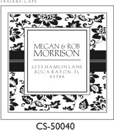 Designer Address Stamp - CS-50040