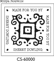 Designer Monogram Stamp - CS-60000SI