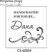 Designer Monogram Stamp - CS-60004