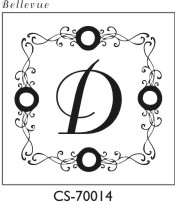 Designer Monogram Stamp - CS-70014