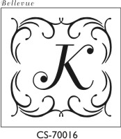 Designer Monogram Stamp - CS-70016PI