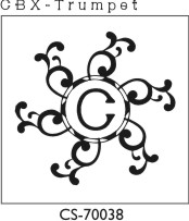 Designer Monogram Stamp - CS-70038