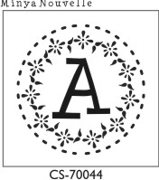 Designer Monogram Stamp - CS-70044