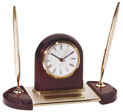 "Clock/Pen Set 9 3/4"" x 5 1/2"" - DA9115"