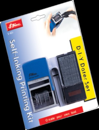 D-I-Y Self-Inking Dater Set