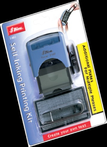 D-I-Y Self-Inking Stamp