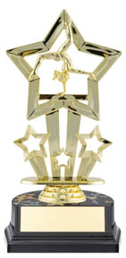 Gymnastics Superstar Sport Trophy