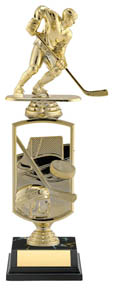 "Hockey All Star Sport Trophy - 11 1/2"" (riser)"