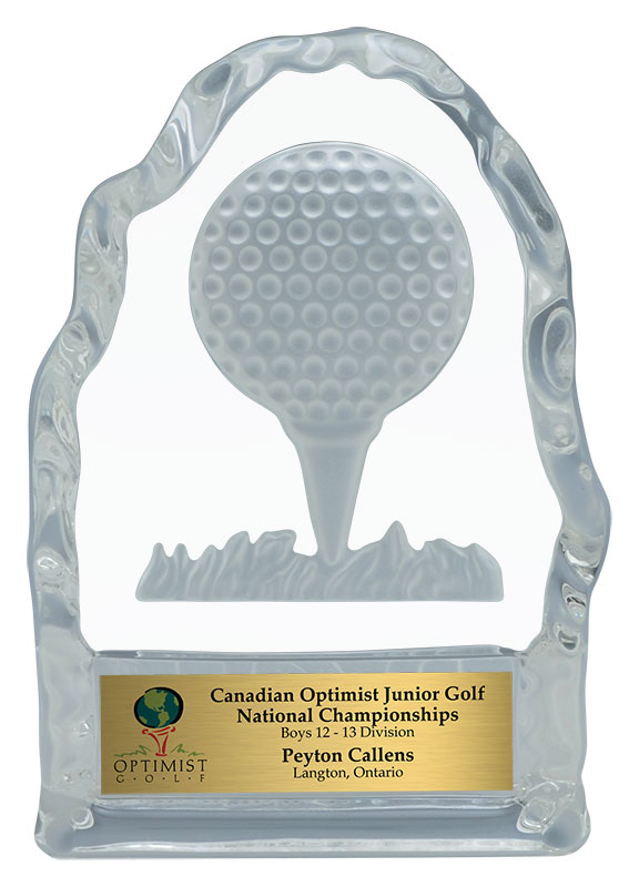 Golf Iceberg Award - Golf Tee - 4 1/4""