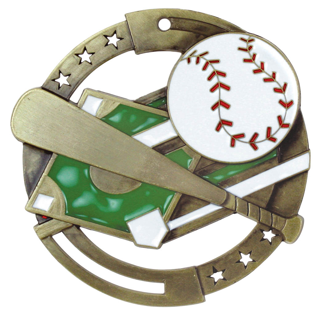 Baseball M3XL Series Medal