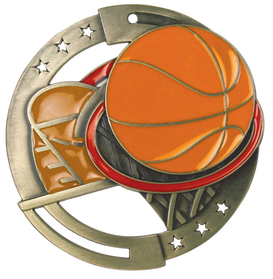 Basketball M3XL Series Medal