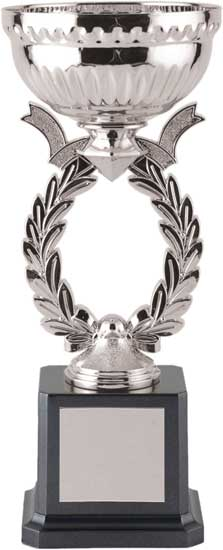 Silver Wreath Cup - 9 3/8""