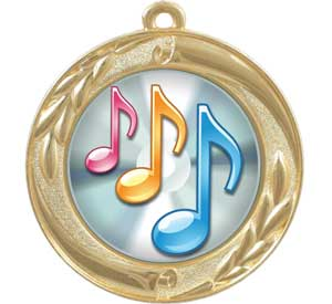 Music Dome Series Medals