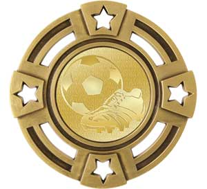Soccer Radiant Series Medals