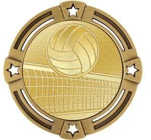 Volleyball Radiant Series Medals