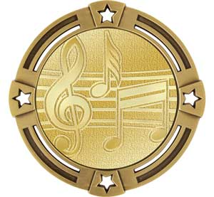 Music Radiant Series Medals