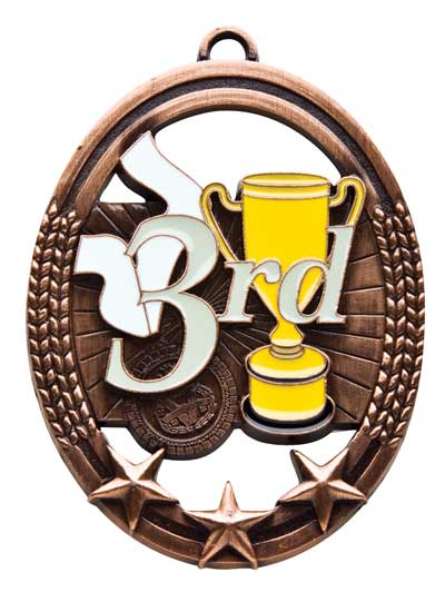 3rd Tri Star Sport Medal - Bronze Only