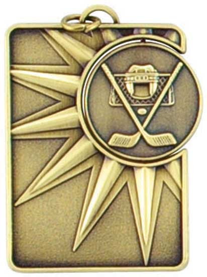 Hockey Spinner Dog Tag