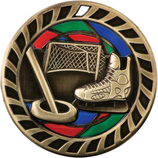 Ringette Stained Glass Medal