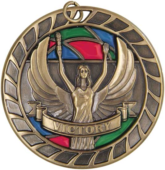 Victory Stained Glass Medal
