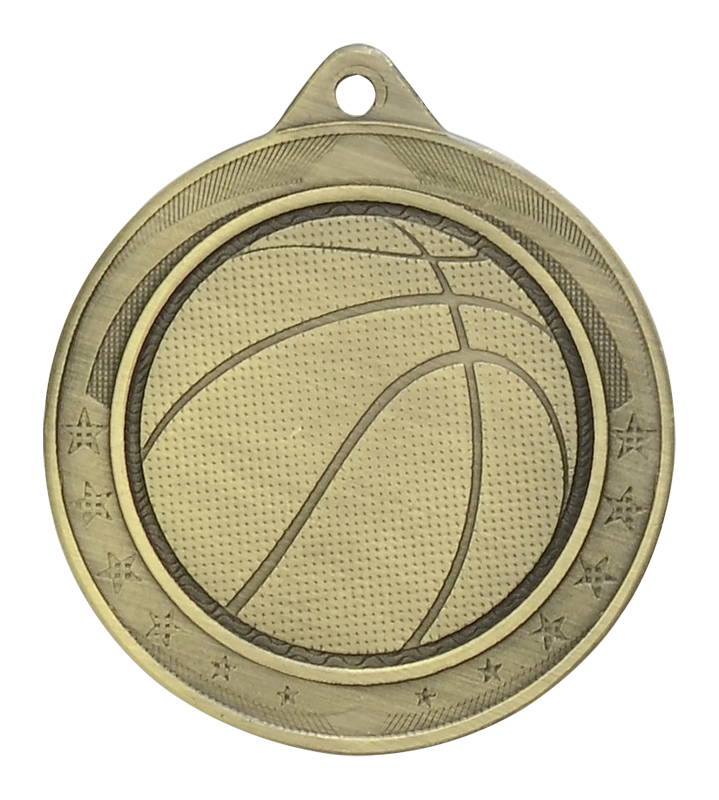 Iron Legacy Basketball Medals
