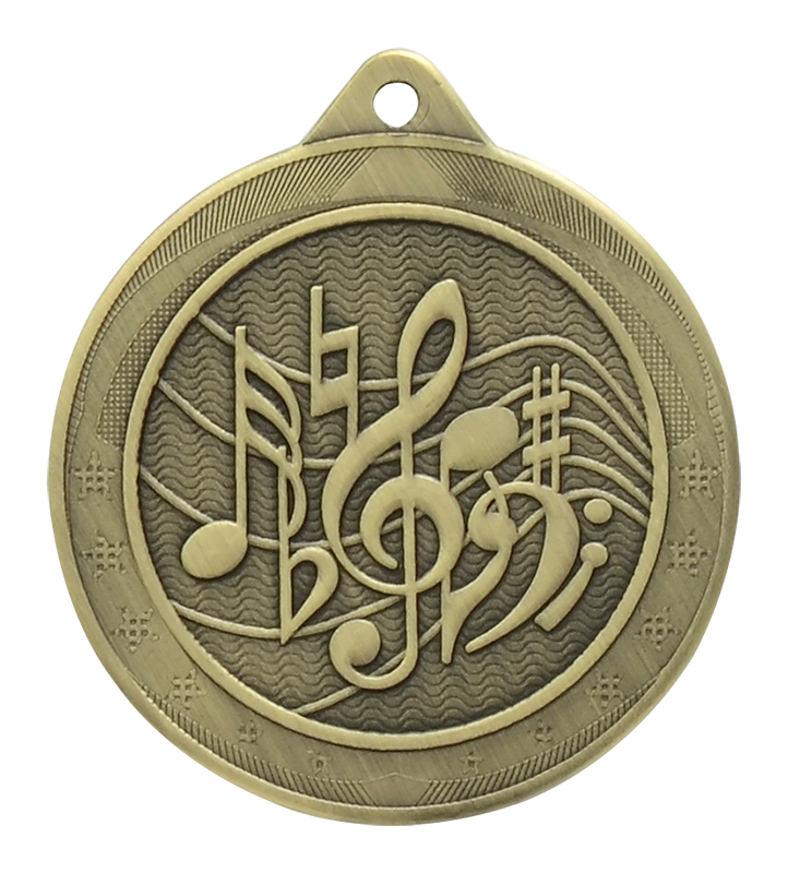 Iron Legacy Music Medals