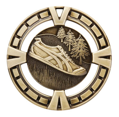Cross Country Running Varsity Sport Medal