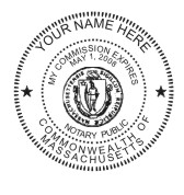 Massachusetts Notary Seal 2
