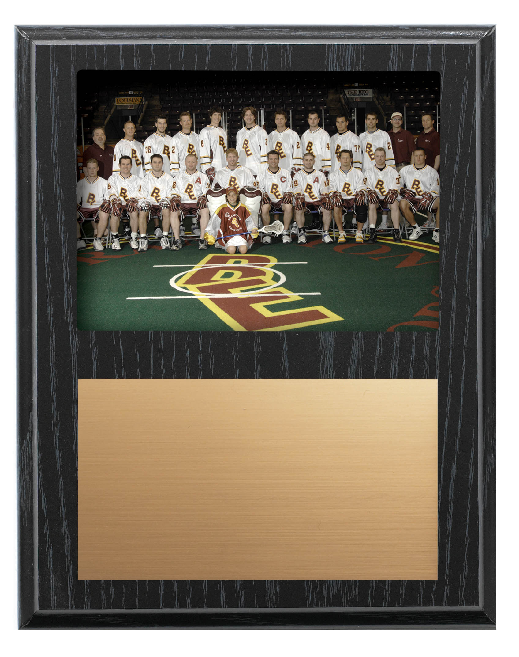 "Recessed Team Photo Plaque - 9"" x 12"""