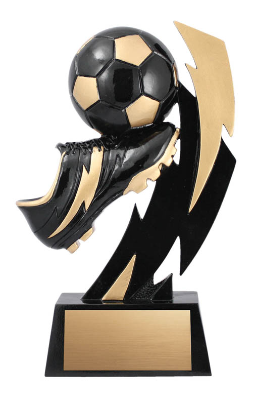 Soccer Flash Trophy - 6 3/4""
