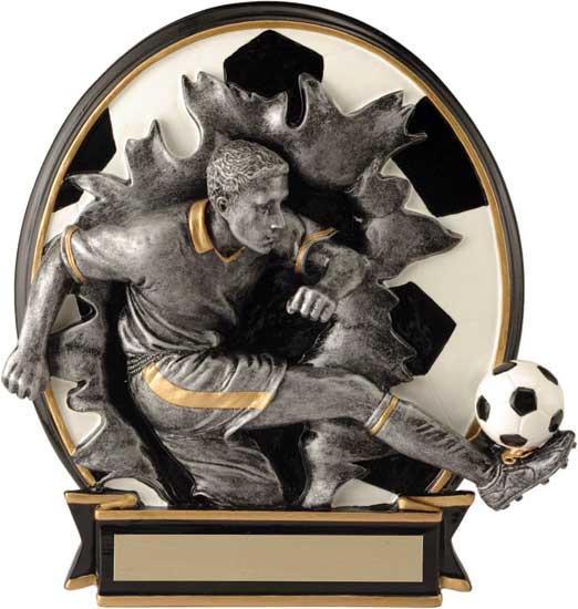 Soccer Blow Out Award - Male 5 1/4""