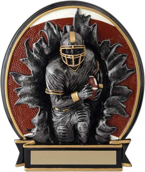 Football Blow Out Award - 6 1/4""