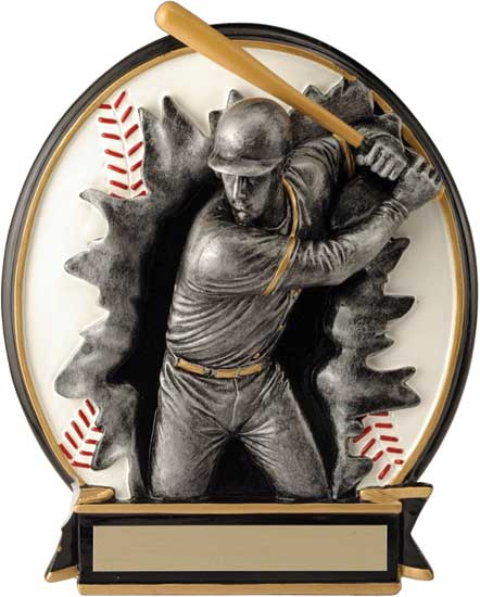 Baseball Blow Out Award - Female 6 1/4""