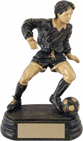 "Soccer Player Award - 6"" - RF00601HG"