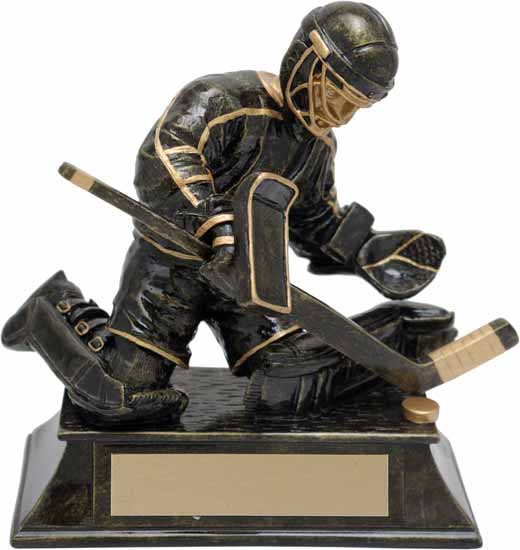 Hockey Goalie Trophy - 6""