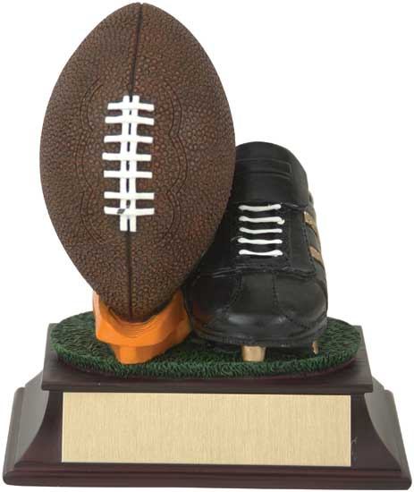 Football and Cleat Award - RF00028FC 4 1/2""
