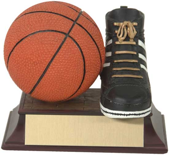 "Basketball and Shoe Award - 4"" RF00029FC"