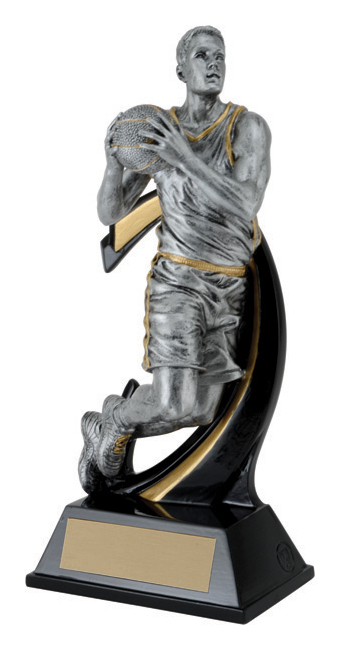 Basketball Wave Trophy - 6""